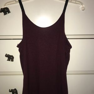 Zara Tank Top with leather straps